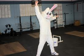 easter bunny crossfit